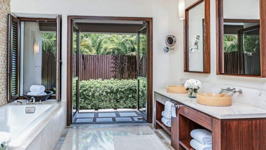Four Seasons Luxury Resort Punta Mita - Nayarit, Mexico - Coral Beach House Bathroom Tub