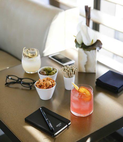 Armani Luxury Hotel Milano - Milan, Italy - Refreshing Drinks