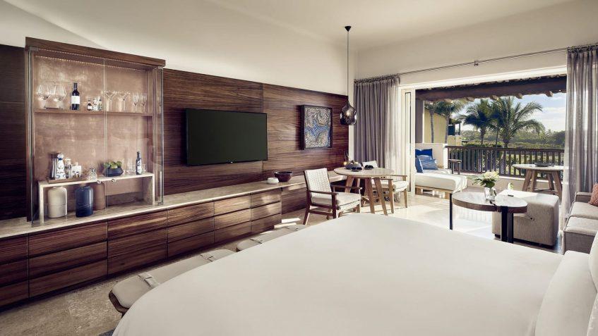 Four Seasons Luxury Resort Punta Mita - Nayarit, Mexico - Garden Casita Bedroom View