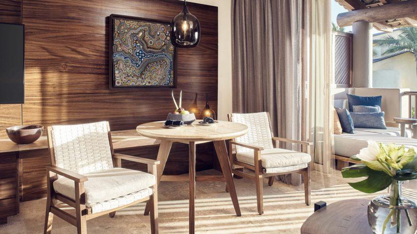 Four Seasons Luxury Resort Punta Mita - Nayarit, Mexico - Garden Casita Sitting Area