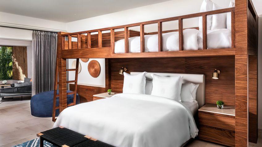 Four Seasons Luxury Resort Punta Mita - Nayarit, Mexico - Family Casita Bedroom