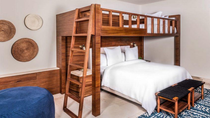 Four Seasons Luxury Resort Punta Mita - Nayarit, Mexico - Family Casita Bedroom Bunk Bed
