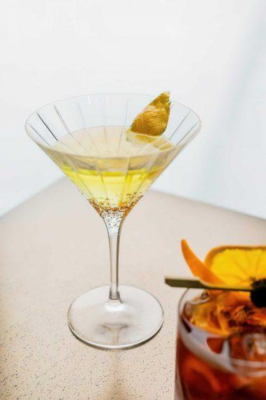 Armani Luxury Hotel Milano - Milan, Italy - Refreshing Cocktails