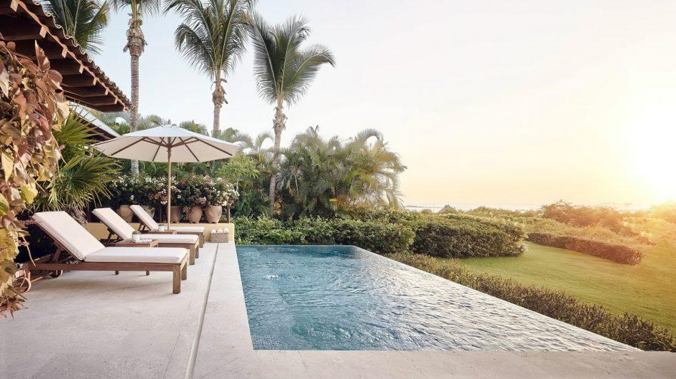 Four Seasons Luxury Resort Punta Mita - Nayarit, Mexico - Invierno Ocean Villa Pool Deck View