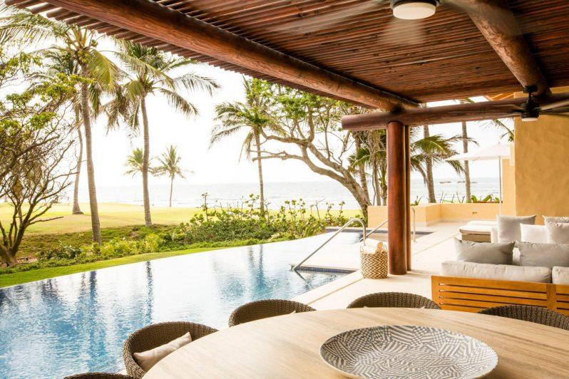 Four Seasons Luxury Resort Punta Mita - Nayarit, Mexico - Ocean View Villa Pool Deck