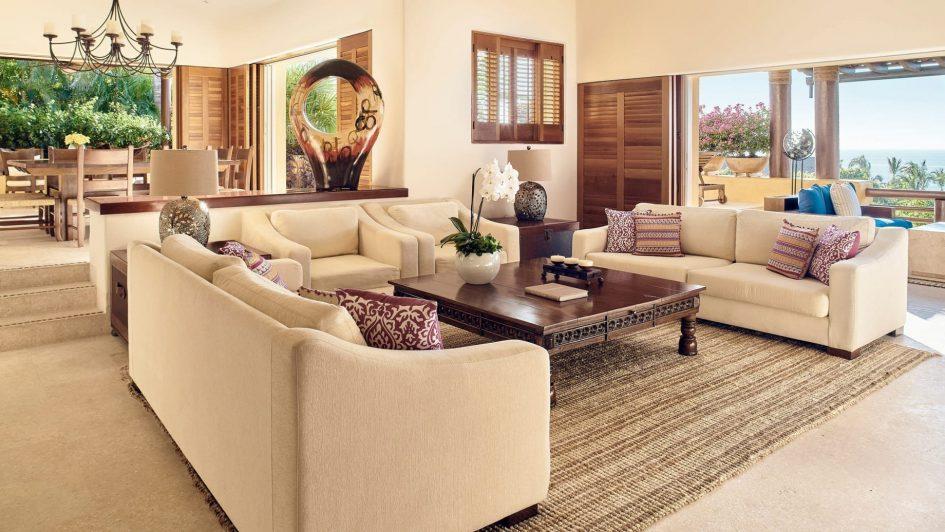 Four Seasons Luxury Resort Punta Mita - Nayarit, Mexico - Invierno Ocean Villa Living Room