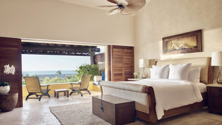 Four Seasons Luxury Resort Punta Mita - Nayarit, Mexico - Invierno Ocean Villa Bedroom