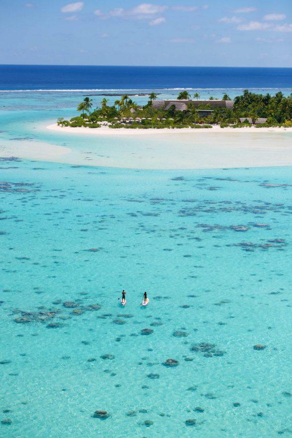 The Brando Luxury Resort - Tetiaroa Private Island, French Polynesia - Tropical Ocean Paddle Boarding