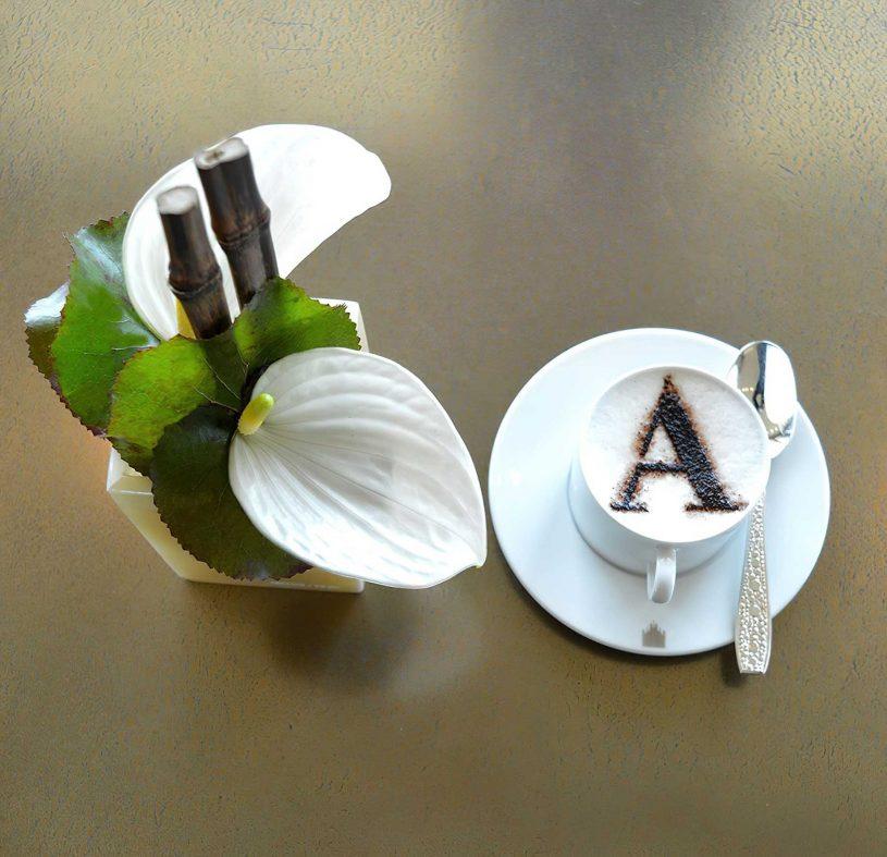 Armani Luxury Hotel Milano - Milan, Italy - Decadent Armani Cappuccino