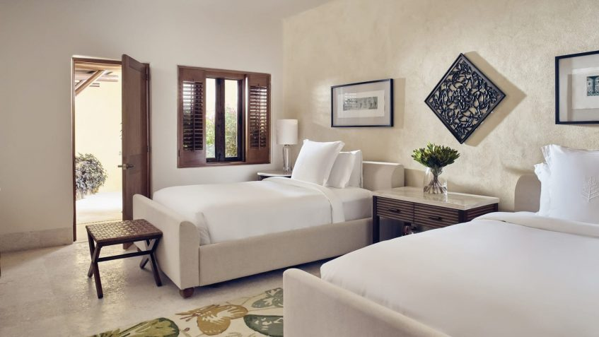 Four Seasons Luxury Resort Punta Mita - Nayarit, Mexico - Invierno Ocean Villa Twin Bedroom