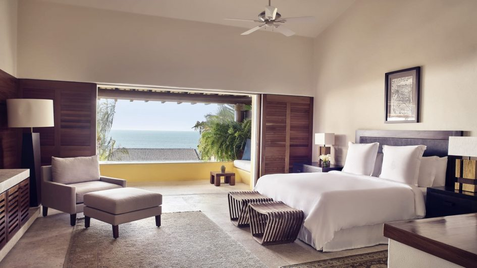Four Seasons Luxury Resort Punta Mita - Nayarit, Mexico - Invierno Ocean Villa Master Bedroom