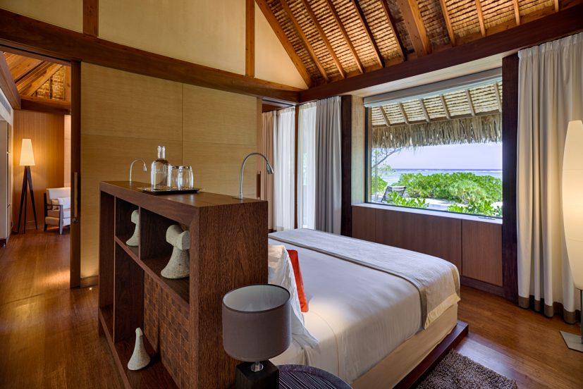 The Brando Luxury Resort - Tetiaroa Private Island, French Polynesia - 1 Bedroom Beachfront Villa Bedroom