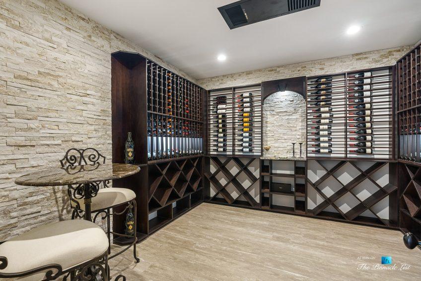 5705 Winterthur Ln, Sandy Springs, GA, USA - Atlanta Luxury Real Estate - Winterthur Estates Home - Wine Room