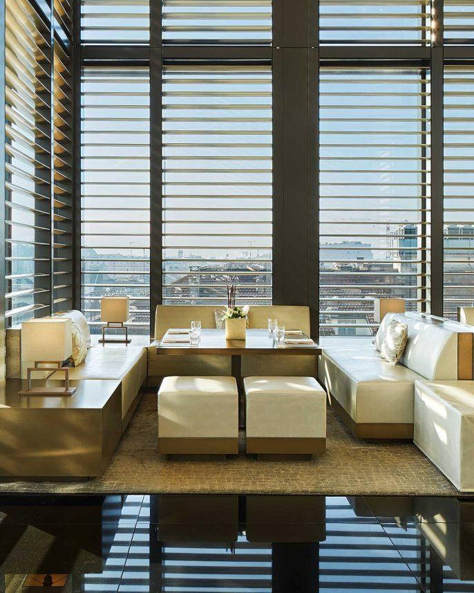 Armani Luxury Hotel Milano - Milan, Italy - Armani Bamboo Bar Seating