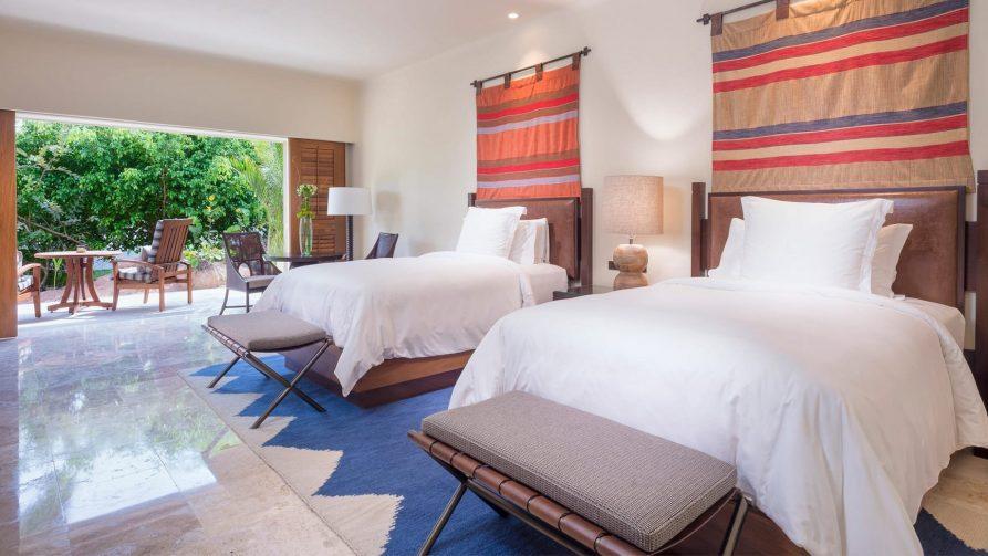 Four Seasons Luxury Resort Punta Mita - Nayarit, Mexico - Luna Ocean Villa Twin Bedroom