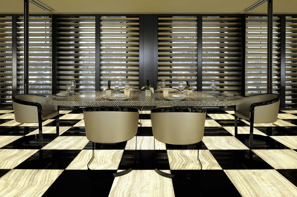 Armani Luxury Hotel Milano - Milan, Italy - Armani Restaurant Table