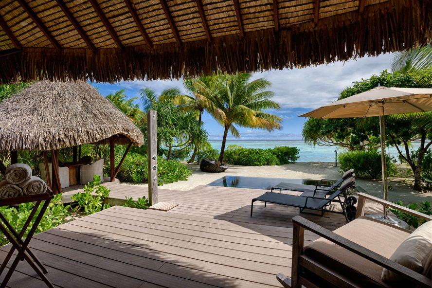 The Brando Luxury Resort - Tetiaroa Private Island, French Polynesia - 1 Bedroom Beachfront Villa Pool Deck