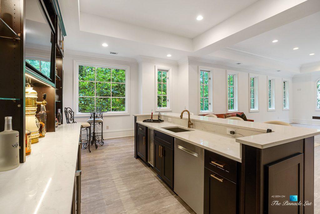 5705 Winterthur Ln, Sandy Springs, GA, USA - Atlanta Luxury Real Estate - Winterthur Estates Home - Recreation Room Bar