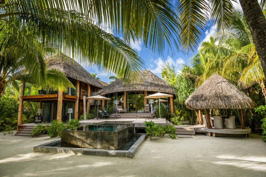 The Brando Luxury Resort - Tetiaroa Private Island, French Polynesia - 2 Bedroom Beachfront Villa