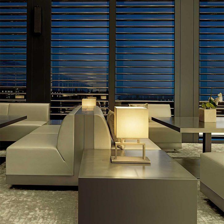 Armani Luxury Hotel Milano - Milan, Italy - Armani Bamboo Bar at Night