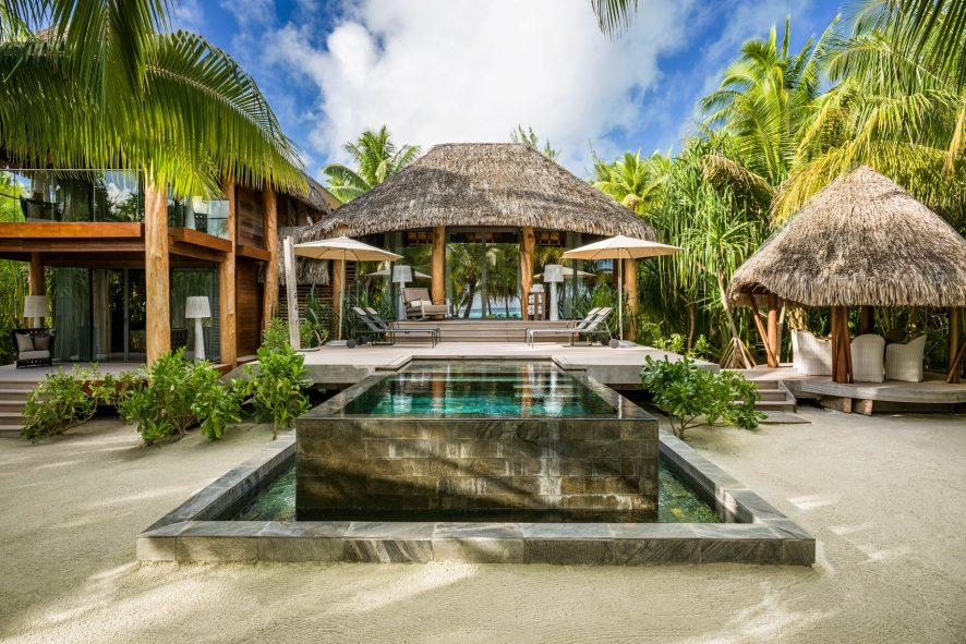 The Brando Luxury Resort - Tetiaroa Private Island, French Polynesia - 2 Bedroom Beachfront Villa Infinity Pool