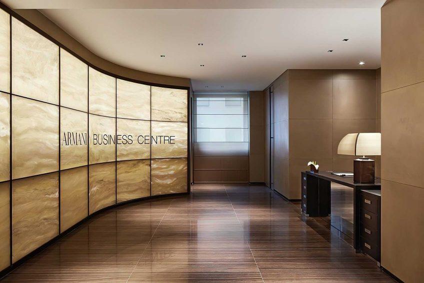 Armani Luxury Hotel Milano - Milan, Italy - Armani Business Centre