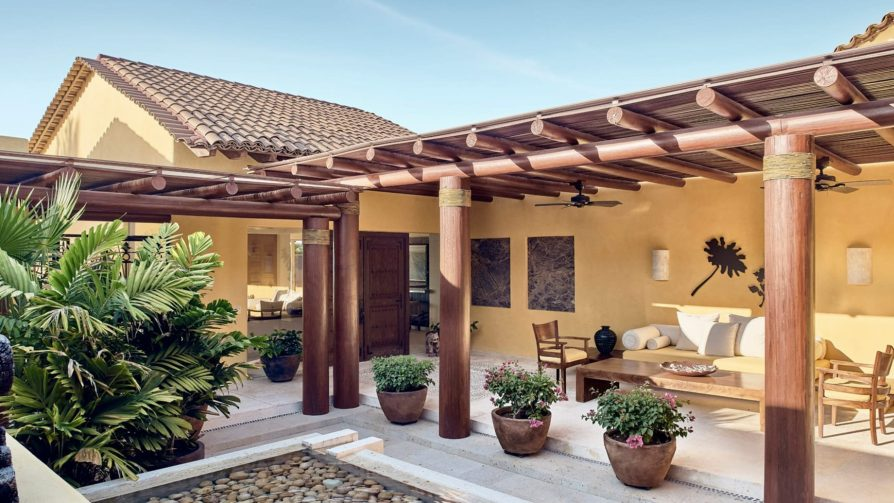 Four Seasons Luxury Resort Punta Mita - Nayarit, Mexico - Marea Beach House Patio