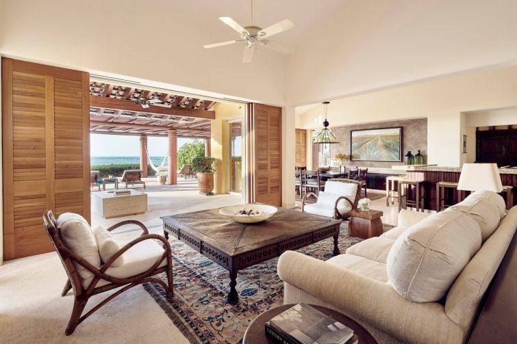 Four Seasons Luxury Resort Punta Mita - Nayarit, Mexico - Marea Beach House Living Room