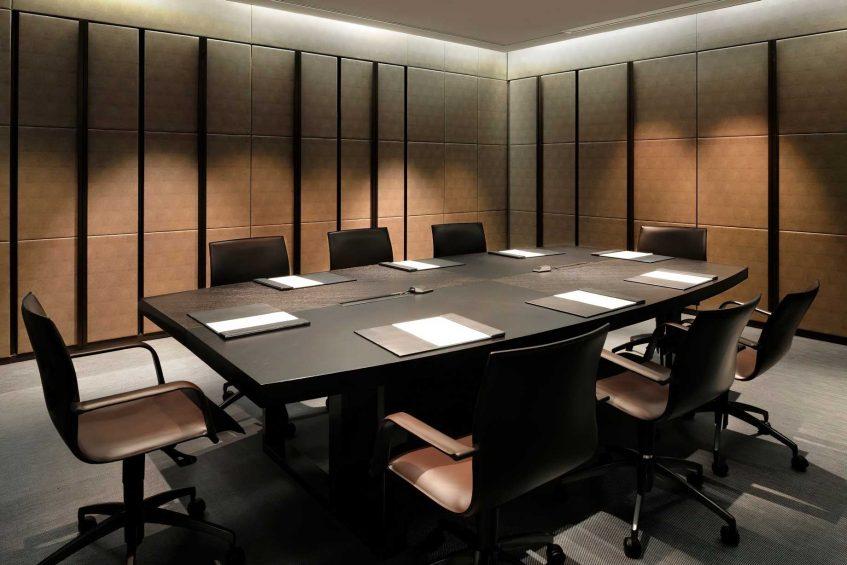 Armani Luxury Hotel Milano - Milan, Italy - Armani Business Centre Table