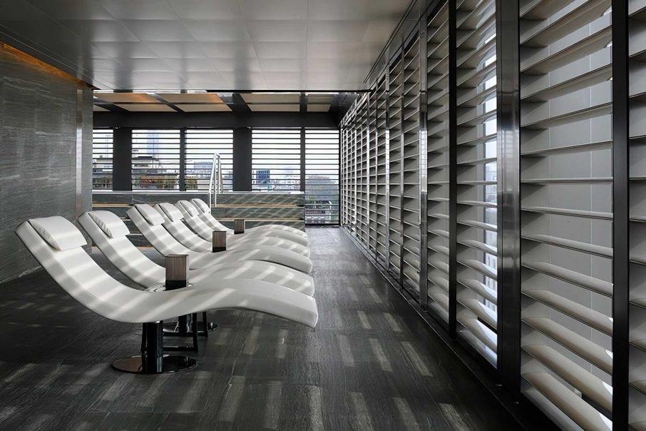 Armani Luxury Hotel Milano - Milan, Italy - Armani SPA Lounge Chairs
