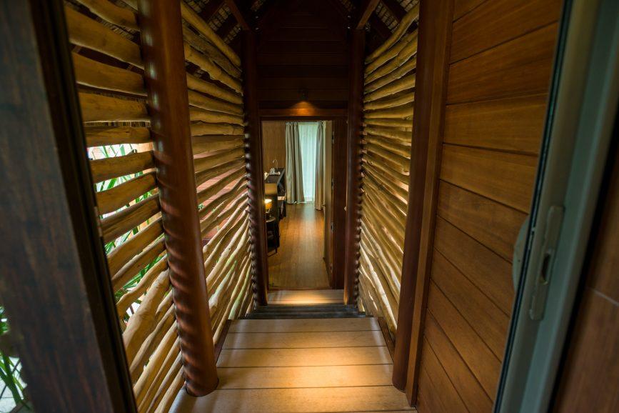 The Brando Luxury Resort - Tetiaroa Private Island, French Polynesia - 2 Bedroom Beachfront Villa Hallway