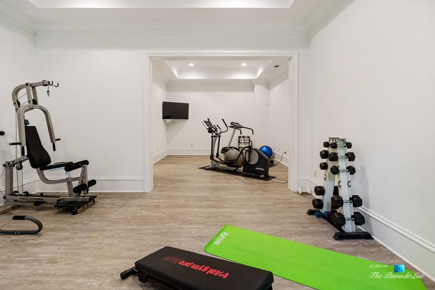 5705 Winterthur Ln, Sandy Springs, GA, USA - Atlanta Luxury Real Estate - Winterthur Estates Home - Gym