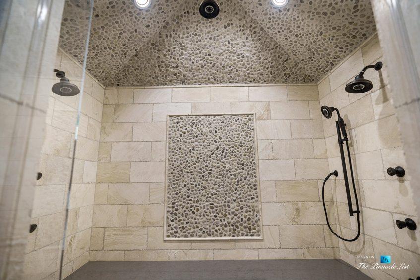 5705 Winterthur Ln, Sandy Springs, GA, USA - Atlanta Luxury Real Estate - Winterthur Estates Home - Spa Bathroom Shower