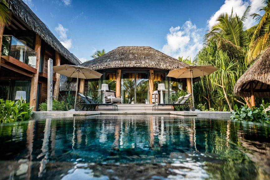The Brando Luxury Resort - Tetiaroa Private Island, French Polynesia - 2 Bedroom Beachfront Villa Pool