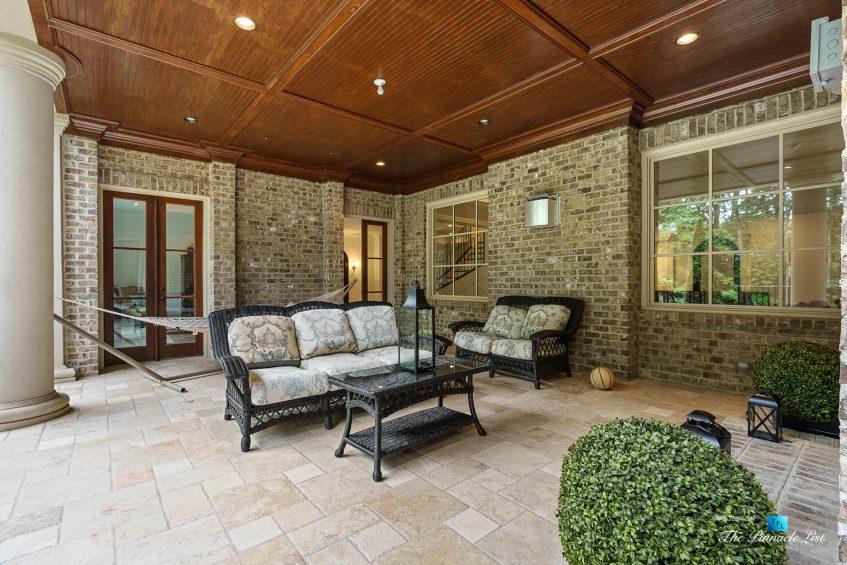 5705 Winterthur Ln, Sandy Springs, GA, USA - Atlanta Luxury Real Estate - Winterthur Estates Home - Covered Deck