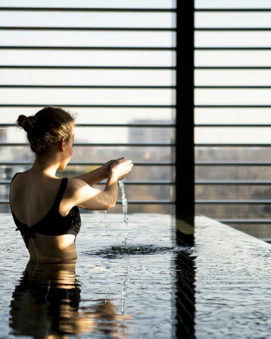 Armani Luxury Hotel Milano - Milan, Italy - Armani SPA Relaxation Pool