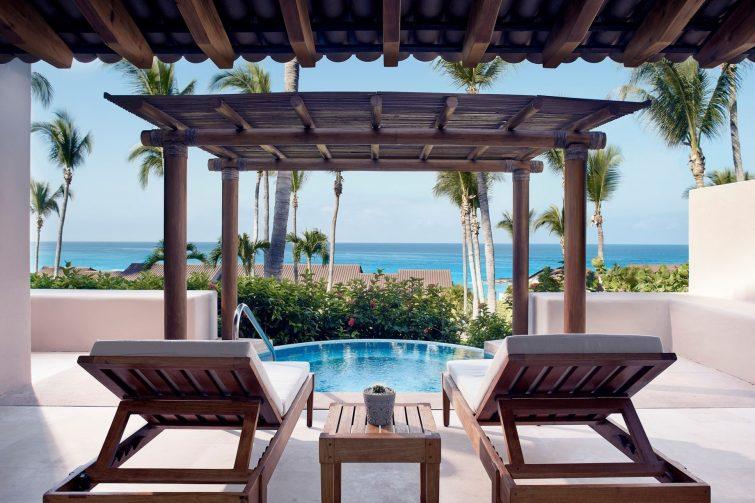 Four Seasons Luxury Resort Punta Mita - Nayarit, Mexico - Ocean Plunge Pool Suite Deck