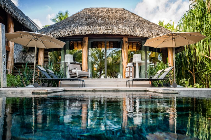 The Brando Luxury Resort - Tetiaroa Private Island, French Polynesia - 2 Bedroom Beachfront Villa Pool Deck
