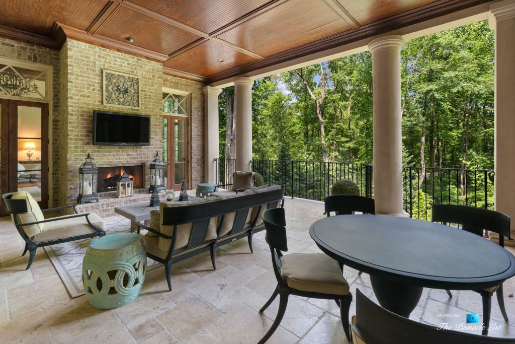 5705 Winterthur Ln, Sandy Springs, GA, USA - Atlanta Luxury Real Estate - Winterthur Estates Home - Outdoor Terrace