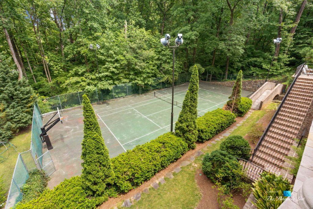 5705 Winterthur Ln, Sandy Springs, GA, USA - Atlanta Luxury Real Estate - Winterthur Estates Home - Tennis Court