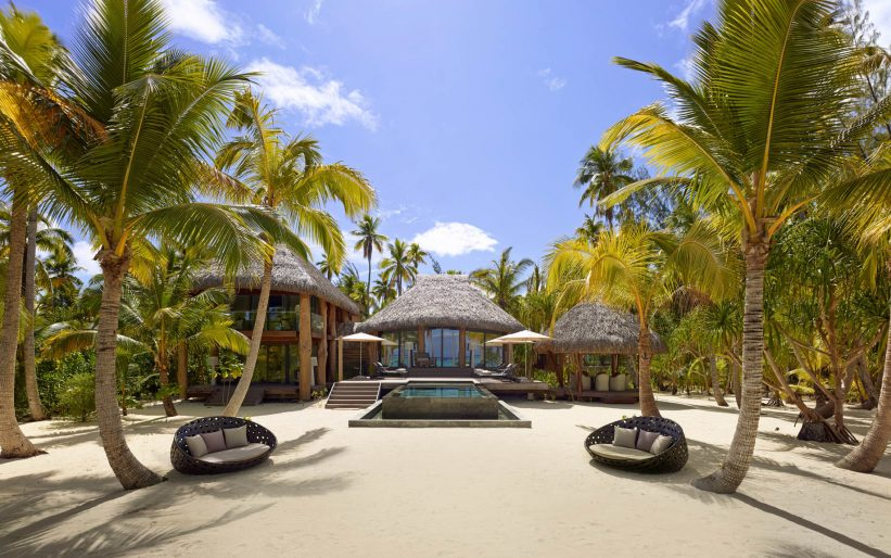 The Brando Luxury Resort - Tetiaroa Private Island, French Polynesia - 3 Bedroom Villa Exterior
