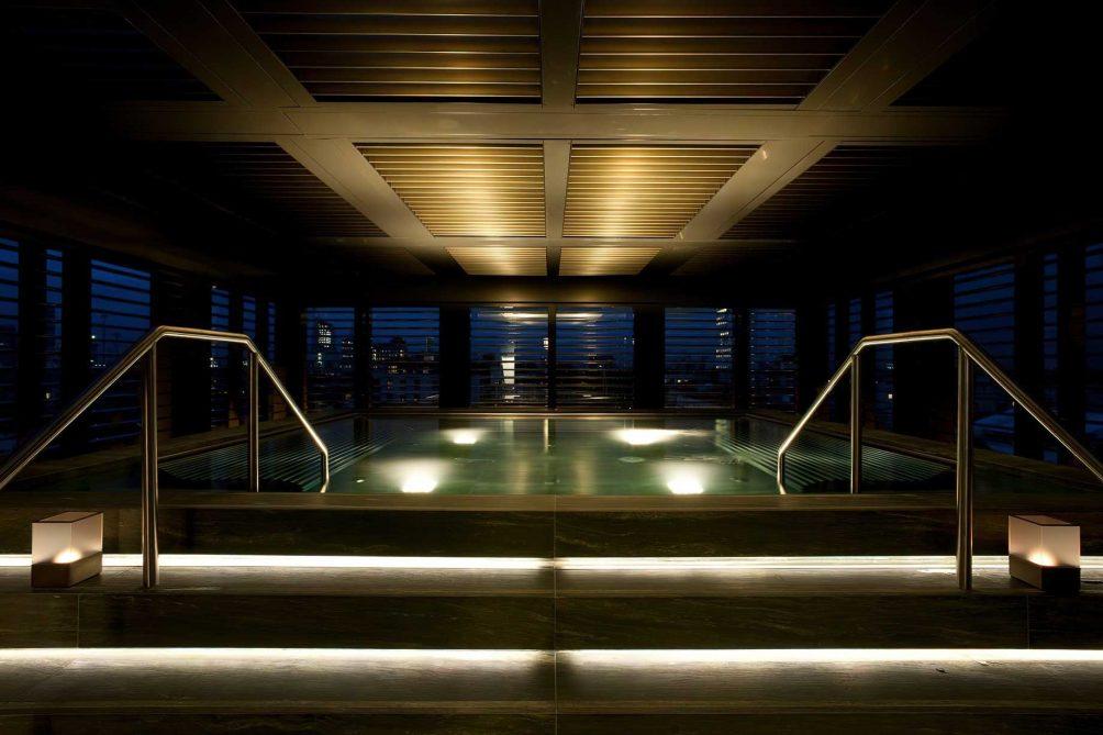 Armani Luxury Hotel Milano - Milan, Italy - Armani SPA Relaxation Pool at Night