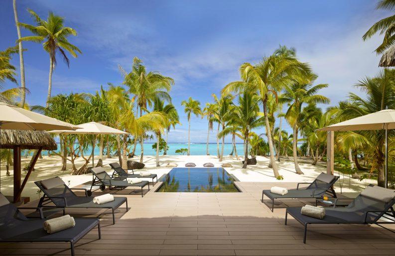 The Brando Luxury Resort - Tetiaroa Private Island, French Polynesia - 3 Bedroom Beachfront Villa Ocean View