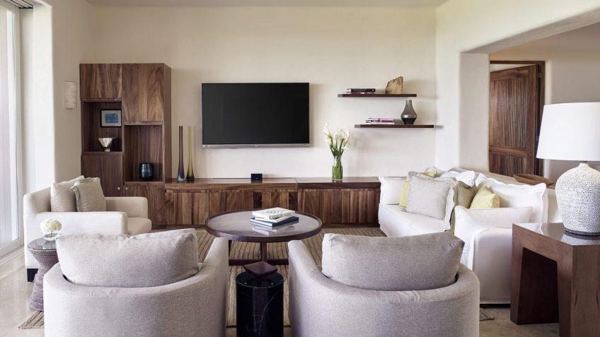 Four Seasons Luxury Resort Punta Mita - Nayarit, Mexico - Ocean Residence Sitting Area