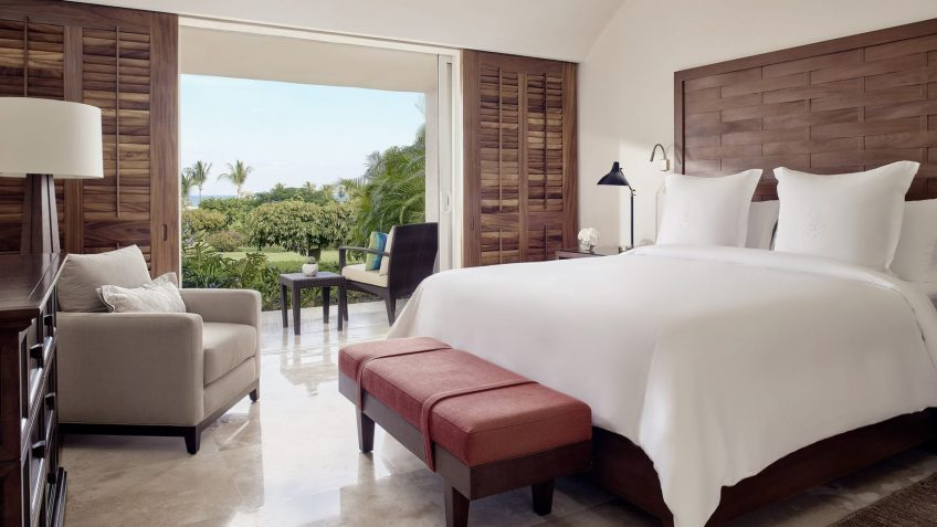 Four Seasons Luxury Resort Punta Mita - Nayarit, Mexico - Ocean Residence Bedroom