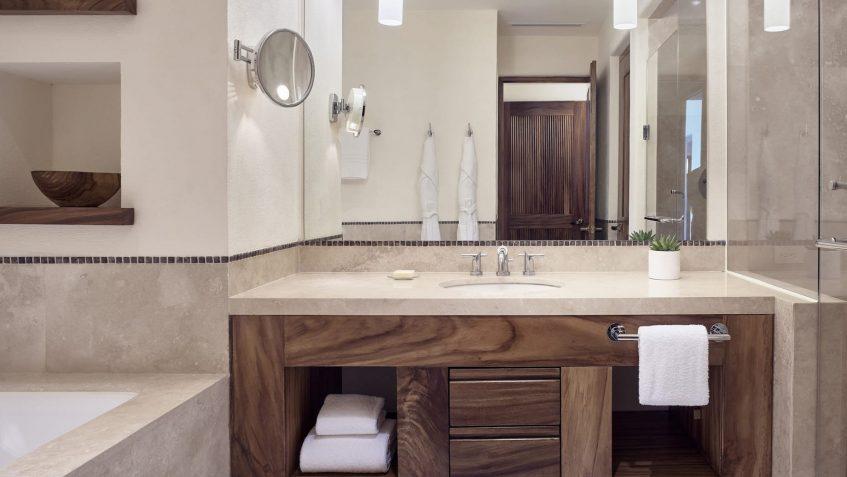 Four Seasons Luxury Resort Punta Mita - Nayarit, Mexico - Ocean Residence Bathroom Mirror