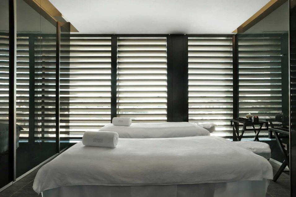 Armani Luxury Hotel Milano - Milan, Italy - Armani SPA Treatment Tables