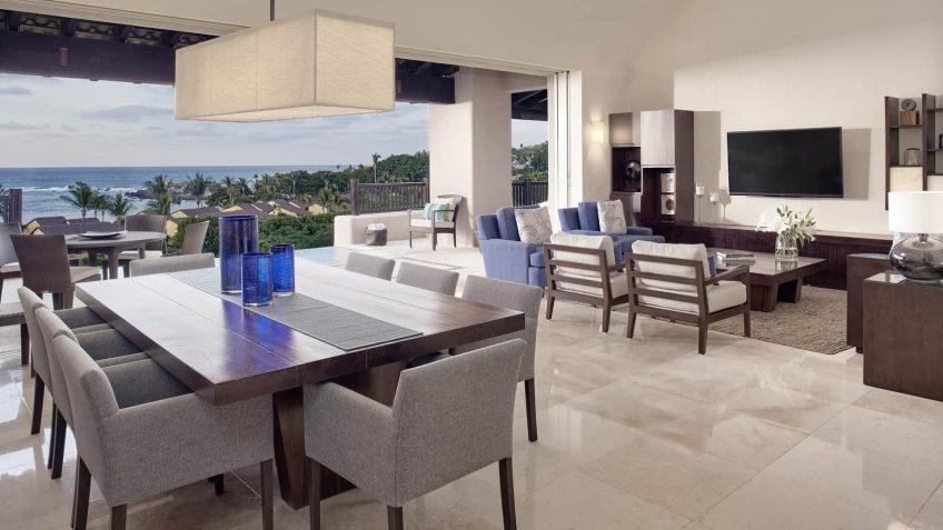 Four Seasons Luxury Resort Punta Mita - Nayarit, Mexico - Ocean View Penthouse Living Room