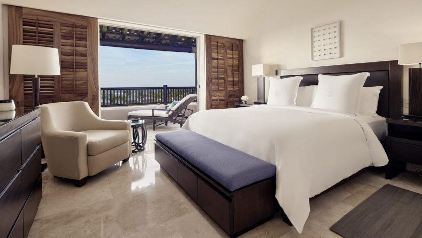 Four Seasons Luxury Resort Punta Mita - Nayarit, Mexico - Ocean View Penthouse Bedroom and Sitting Area