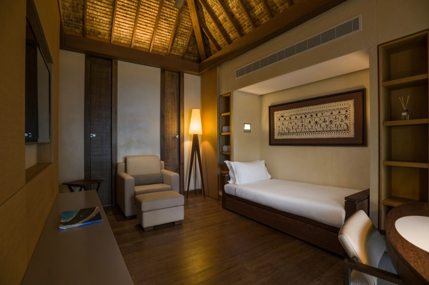 The Brando Luxury Resort - Tetiaroa Private Island, French Polynesia - 3 Bedroom Beachfront Villa Flex Room
